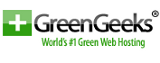 GreenGeeks green web hosting